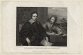 Thomas Wentworth, 1st Earl of Strafford and Sir Philip Mainwaring, by William Greatbach, after  Sir Anthony van Dyck - NPG D26604