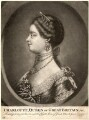 Sophia Charlotte of Mecklenburg-Strelitz, after Unknown artist - NPG D9111