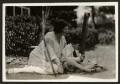 Lella Secor Florence (née Lella Faye Secor); Anthony Sargant Florence, by Unknown photographer - NPG Ax131214