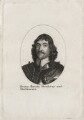 Henry Frederick Howard, 15th Earl of Arundel, 5th Earl of Surrey and 2nd Earl of Norfolk, after Wenceslaus Hollar - NPG D26636