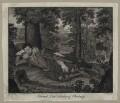 Edward Herbert, 1st Baron Herbert of Cherbury, by Anthony Walker, after  Isaac Oliver - NPG D26650