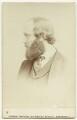 Robert Gascoyne-Cecil, 3rd Marquess of Salisbury, by (George) Herbert Watkins - NPG x75846