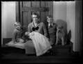 Lady Butler with her children, by Bassano Ltd - NPG x151944