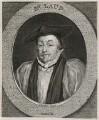 William Laud, by George Vertue, after  Sir Anthony van Dyck - NPG D26699