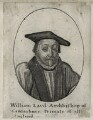 William Laud, by Wenceslaus Hollar, after  Sir Anthony van Dyck - NPG D26703