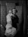 Lady Vivian with her son Nicholas, by Bassano Ltd - NPG x151989