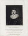 John Williams, by James Stow, after  Cornelius Johnson - NPG D26715