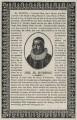 Henry Burton, after Wenceslaus Hollar - NPG D26839
