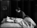 Hon. (Mary) Isabella Fagan (née Arundell); Patrick Feltrim Fagan, by Bassano Ltd - NPG x152078