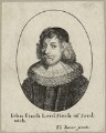 John Finch, 1st Baron Finch, by Wenceslaus Hollar, after  Edward Bower - NPG D26940