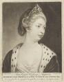 Princess Augusta Charlotte, Duchess of Brunswick-Wolfenbüttell, by Richard Houston, after  Sir Joshua Reynolds - NPG D9120