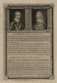 Robert Bertie, 1st Earl of Lindsey and Robert Dormer, 1st Earl of Carnarvon, by George Vertue, after  Sir Anthony van Dyck - NPG D27024