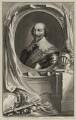 Robert Bertie, 1st Earl of Lindsey, by Jacobus Houbraken, after  Cornelius Johnson - NPG D27026