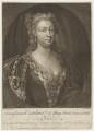 Caroline Wilhelmina of Brandenburg-Ansbach, by John Faber Jr, after  John Vanderbank - NPG D9138