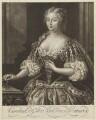 Caroline Wilhelmina of Brandenburg-Ansbach, by Alexander van Aken, after  Jacopo Amigoni - NPG D9139