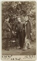William Bell Scott; Dante Gabriel Rossetti; John Ruskin, by W. & D. Downey - NPG Ax38133