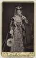 Queen Alexandra as Mary, Queen of Scots, by A.J. (Arthur James) Melhuish, published by  Figaro Office - NPG x23492