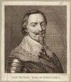 Patrick Ruthven, Earl of Brentford, by P. or S. Paul (Samuel de Wilde?) - NPG D27080