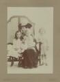 Hester Sassoon (née Gatty); Katharine (née Morrison), Lady Gatty; Richard Gatty; Oliver Gatty, by Rita Martin - NPG x68915