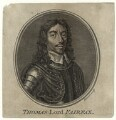 Thomas Fairfax, 3rd Lord Fairfax of Cameron, by Guillaume Philippe Benoist, after  Samuel Cooper - NPG D27108