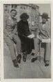 Siegfried Loraine Sassoon; Florence (née Kahn), Lady Beerbohm; Sir Max Beerbohm, by Unknown photographer - NPG x46601