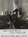 Claire Margaret Blunden (née Poynting); Edmund Blunden; Fumiko Saito; Takeshi Saito, by Unknown photographer - NPG x46603
