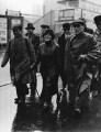 Ellen Cicely Wilkinson leading the Jarrow Marchers through Cricklewood in London, by Fox Photos Ltd - NPG x88278