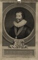 Sir Robert Harley, by George Vertue, after  Peter Oliver - NPG D27212