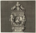 Sir Robert Ayton in his Monument at Westminster Abbey, after Francesco Fanelli - NPG D27219