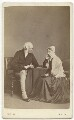 Edward Curtis May; Caroline May (née Hooper), by William Vick - NPG x21279