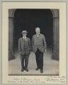Johnny Hayes; William O'Malley, by Sir (John) Benjamin Stone - NPG x131226