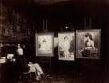 Sir John Everett Millais, 1st Bt, by Rupert Potter - NPG x131237