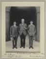Johnny Hayes; William O'Malley; William Joseph O'Malley, by Sir (John) Benjamin Stone - NPG x131227