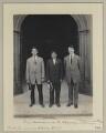 Prize Winners in the Olympic Games (Irish American Athletic Club)' (Jim Sullivan; Louis Tewanima; Robert Cloughen), by Sir (John) Benjamin Stone - NPG x131229