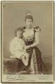 Alfonso XIII, King of Spain; María Cristina de Habsburgo-Lorena, Queen of Spain, by Fernando Debas - NPG x3823