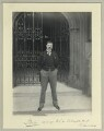 Edward George Villiers Stanley, 17th Earl of Derby, by Sir (John) Benjamin Stone - NPG x35099
