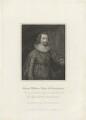 George Villiers, 1st Duke of Buckingham, by Charles Picart, after  Cornelius Johnson - NPG D32283