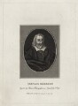 Gervase Markham, by Burnet Reading, published by  Thomas Rodd the Elder, after  Thomas Cross - NPG D27906