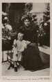 Ena, Queen of Spain with Infante Alfonso, by Charles Chusseau-Flaviens, published by  Rotary Photographic Co Ltd - NPG x74461