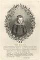 John Milton, by Giovanni Battista Cipriani, after  Cornelius Johnson - NPG D27946