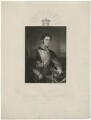 Richard Grenville, 2nd Duke of Buckingham and Chandos, by Robert Cooper, after  Anne Mee (née Foldsone) - NPG D32300
