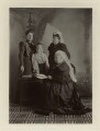 Queen Victoria and family, by Robert Milne - NPG x8488