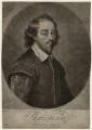 William Shakespeare, by John Simon, after  Gilbert Soest - NPG D27948