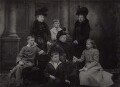 Queen Victoria and family, by Lafayette - NPG Ax29330