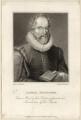 Josuah Sylvester, by Charles Warren, published by  W. Walker, after  Cornelis van Dalen - NPG D27980