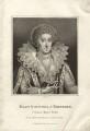 Mary Herbert, Countess of Pembroke, by E. Bocquet, published by  John Scott - NPG D27989