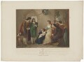 Charles the 2nd after his defeat by Cromwell at the Battle of Worcester, by Charles Knight, published by  J. Deeley, after  Thomas Stothard - NPG D32287