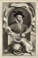 Sir Walter Ralegh (Raleigh), by Jacobus Houbraken, published by  John & Paul Knapton - NPG D27997