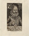 Sir Walter Ralegh (Raleigh), by Robert Vaughan, after  Simon de Passe - NPG D28000