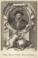 Sir Walter Ralegh (Raleigh), by William Sharp - NPG D28002